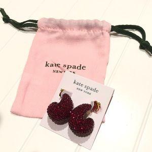 KATE SPADE Adore-Ables Earrings 🍒